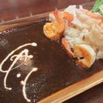 カハラルーム - シュリンプ焙煎カレー 1180円