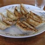 鵜の木 - 料理写真:普通の餃子に見えますが、これが美味しいんです!
