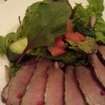 ココット - 鴨の燻製サラダ添え
