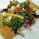 20803488 - ホタテと野菜のガレット:ハーフ
