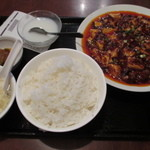 20803569 - 四川風激辛マーボー豆腐定食