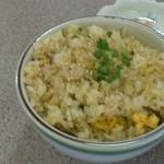 拉麺飯 龍伸 - Cコースの半チャーハン