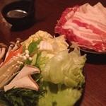 20806379 - 食べ放題お肉と野菜セット