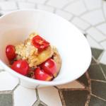 れもんや - 焼き茄子とチェリートマトのアンチョビマリネ (350円) '13 8月中旬