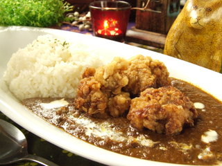 MOMO curry - 唐揚げカレー