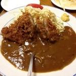 カレーコーナー三原 - カツカレー・アタマ(???円)