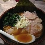麺処 湊生 - ワンタン麺750円 2013.8