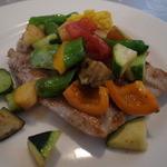 こぶダイニング - 鶏と夏野菜のソテー