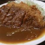洋風居酒屋 山城 - カツカレー(ご飯抜き)