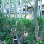 嵯峨野 - 鹿威しの音が響き渡ります