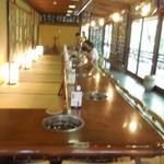 嵯峨野 - テーブル席はこちら