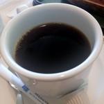 レストラン シェルブルー - コーヒーが付きます