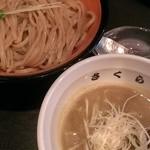桜製作所 - 桜製作所つけ麺(大盛無料)太麺 780円