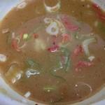 健勝軒 - スープ割