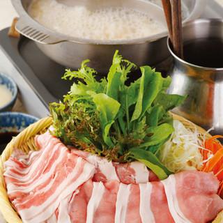 80分食べ放題!絶品豚肉しゃぶしゃぶ