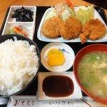 20817970 - ヒレカツ定食:1000円