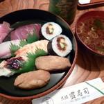 大須寶寿司 - 取合せ寿司(650円)