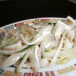 上海屋 - 豚耳 300円
