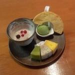 雅 - 料理写真:朝限定メニュー(甘いもので1日のスタート)