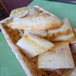 アル・ロドデンドロ - 料理写真:自家製パン