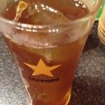 たこ丸 - 300円セットのウーロン茶