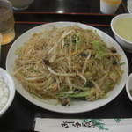 アジア料理 菜心 - 炒めビーフン(大盛り)