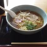 ルートサイド竹の子村 - 料理写真:ラーメン大盛り