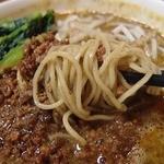 四川菜飯 - 黒ゴマ担担麺のセットにしました(950円)。