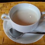 20830054 - ジャガイモの冷製スープです(2013年8月)。