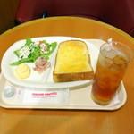 イタリアン・トマトカフェジュニア - モーニングプレート390円