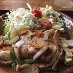 サン・レイク - 生姜焼き ニンニクタップリ