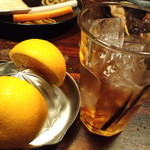 まさや - フレッシュ生搾りカクテル(オレンジ×梅酒)