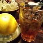 まさや - フレッシュ生搾りカクテル(グレープフルーツ×梅酒)