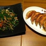 大阪王将 - 餃子 チンジャオロース