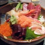 炙・酒・金市朗 - 海鮮丼