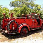 山 - 日産消防車