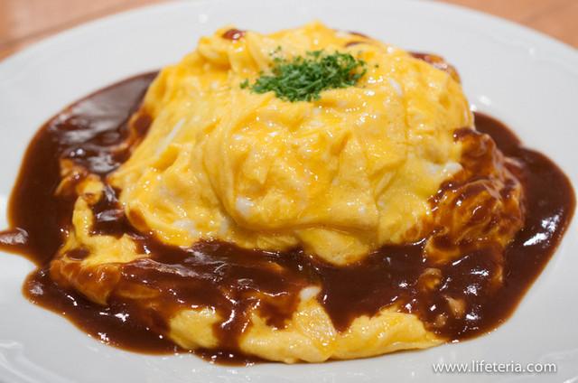 つばめキッチン アトレ品川店 - オムライス【2013年6月】