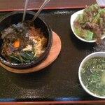 王道 - 石焼ビビンバ定食