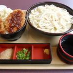 20836076 - ソースヒレカツ丼セット