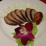 銀座 赤ちょうちん - 自家製腸詰め:550円