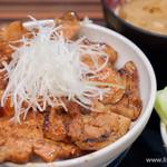 なまらうまいっしょ - 特上国産本ロース豚汁セット+もみキャベ【2013年7月】
