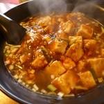 中国料理 菜香 - 料理写真:麻婆あんかけラーメン650円