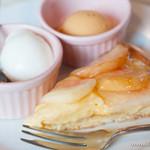 レスパス - 桃のタルトと2種類のアイスクリーム【2013年8月】