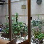 カフェパスト - 坪庭