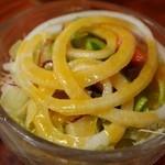 レストラン 自由軒 - タンシチューのサラダ