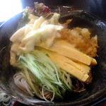 長生庵 - タヌキ蕎麦