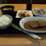 20840326 - 糠炊き定食:550円