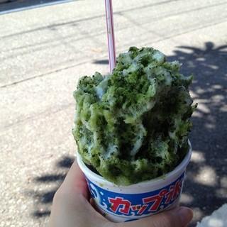 ゑびす餅店 - 料理写真:宇治・クリーム・ミルク