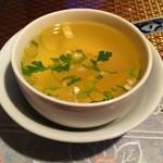 20841317 - ガパオ炒めご飯についてくるスープ
