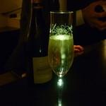 ラ・シャンパーニュ - ☆グラスシャンパン(●^o^●)キラキラ☆